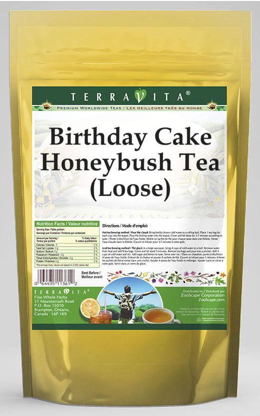 Birthday Cake Honeybush Tea (Loose)
