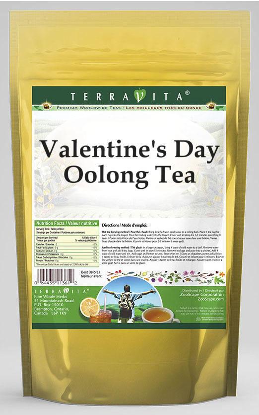 Valentine's Day Oolong Tea
