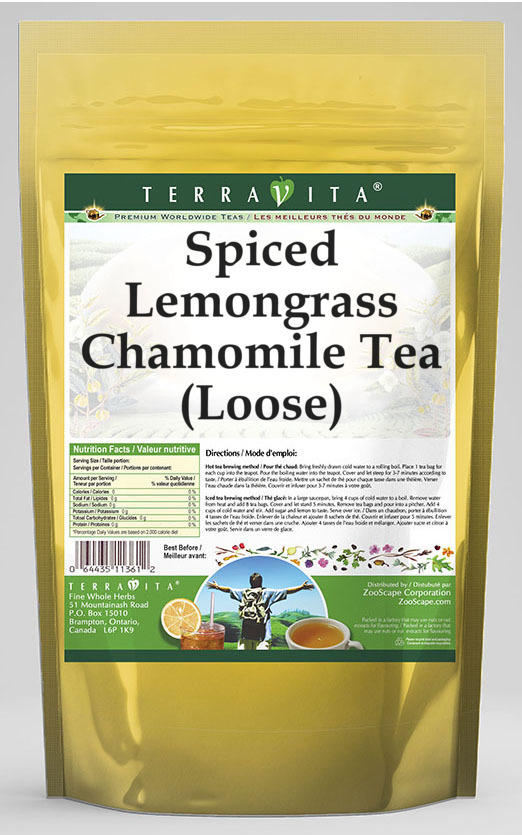 Spiced Lemongrass Chamomile Tea (Loose)