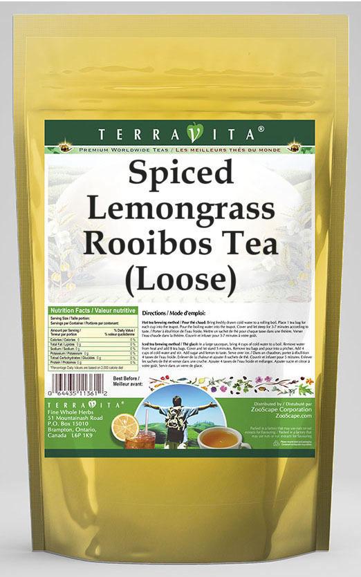 Spiced Lemongrass Rooibos Tea (Loose)