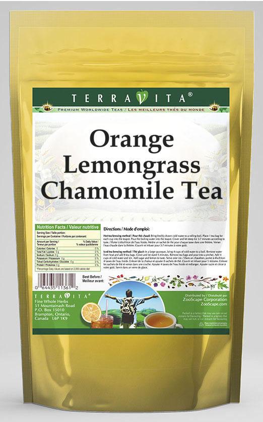 Orange Lemongrass Chamomile Tea
