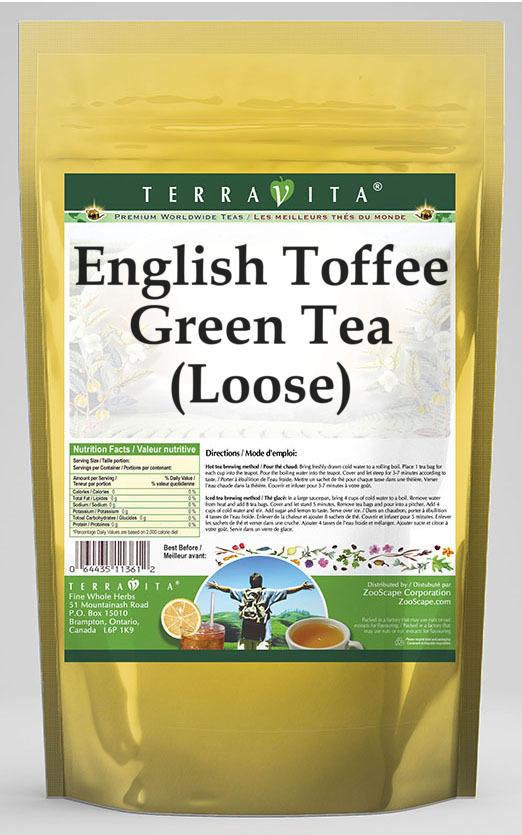 English Toffee Green Tea (Loose)