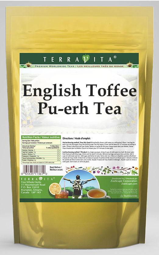 English Toffee Pu-erh Tea