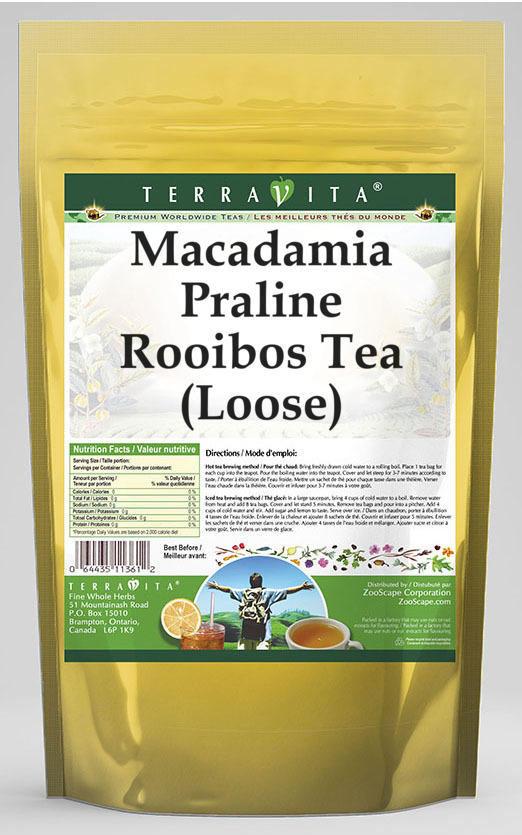 Macadamia Praline Rooibos Tea (Loose)