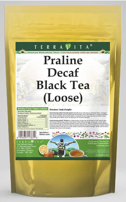 Praline Decaf Black Tea (Loose)