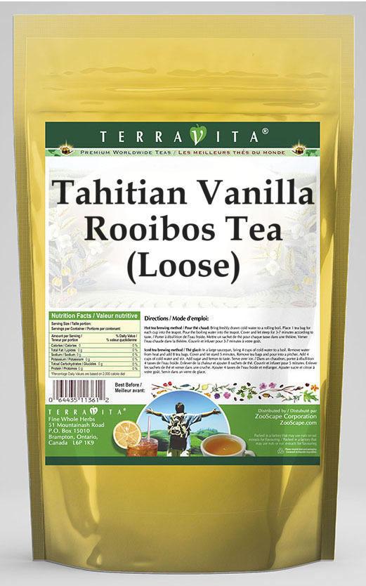 Tahitian Vanilla Rooibos Tea (Loose)
