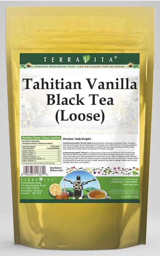 Tahitian Vanilla Black Tea (Loose)