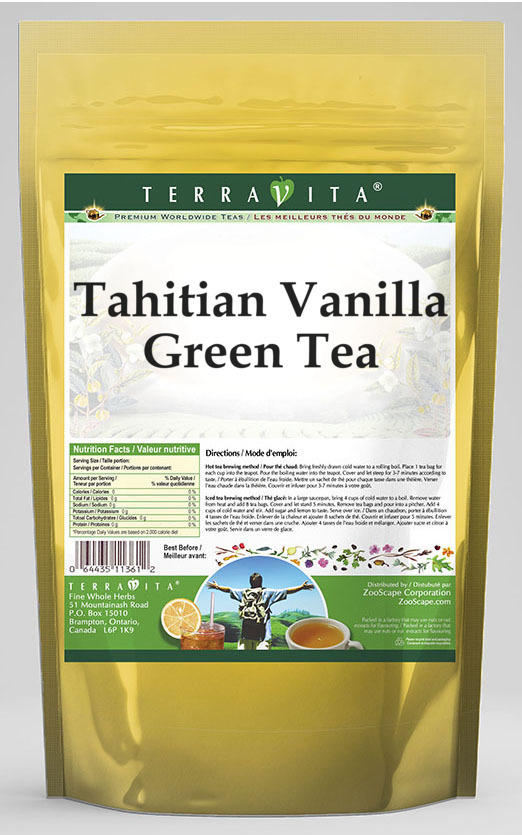 Tahitian Vanilla Green Tea