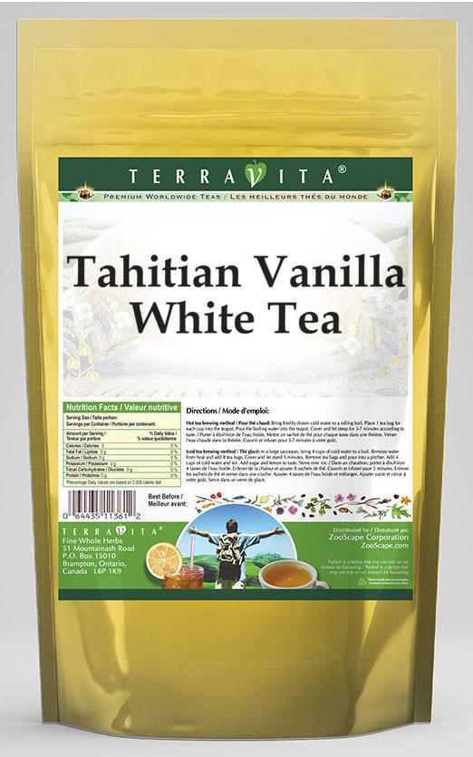 Tahitian Vanilla White Tea