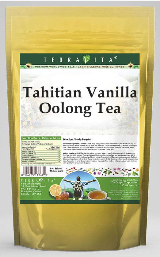 Tahitian Vanilla Oolong Tea