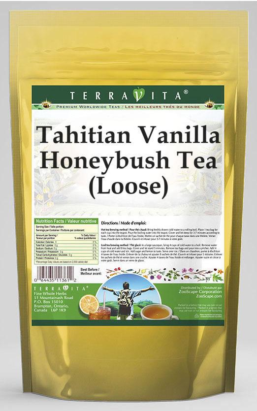 Tahitian Vanilla Honeybush Tea (Loose)
