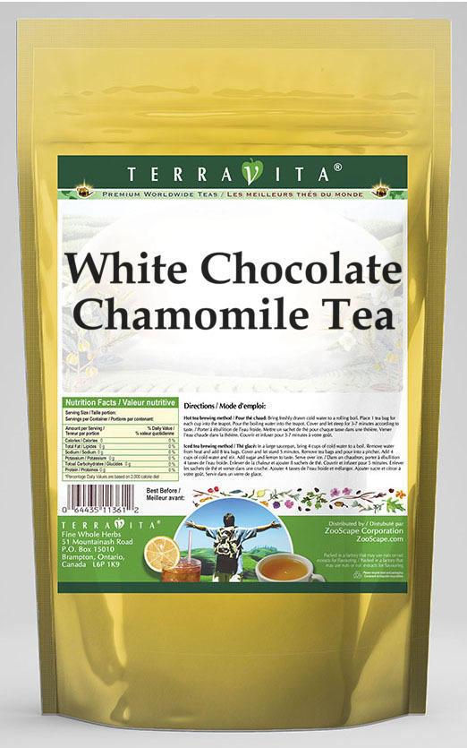 White Chocolate Chamomile Tea