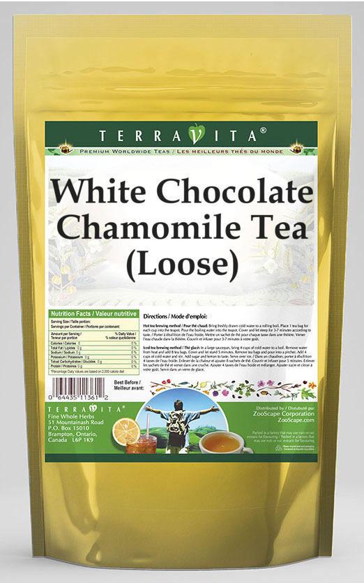 White Chocolate Chamomile Tea (Loose)