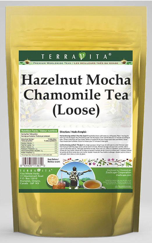 Hazelnut Mocha Chamomile Tea (Loose)