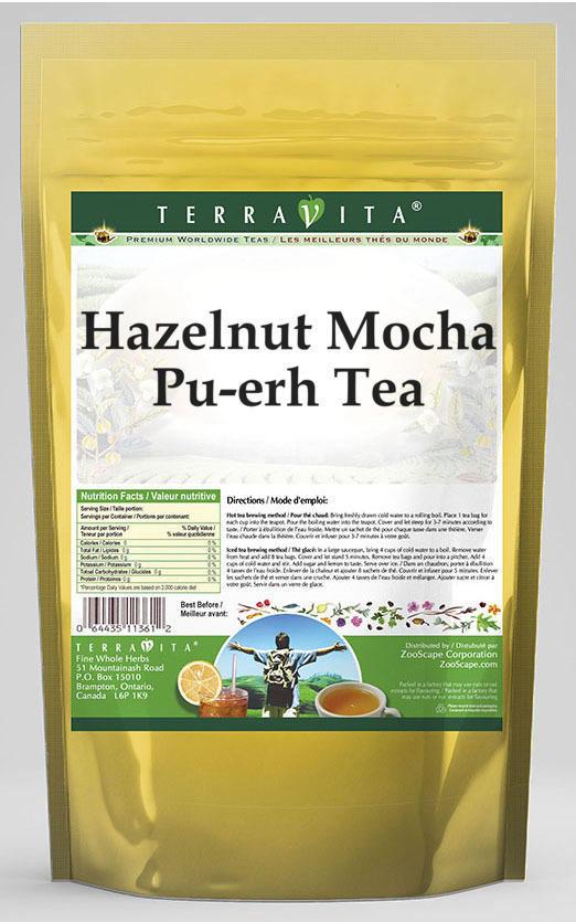 Hazelnut Mocha Pu-erh Tea