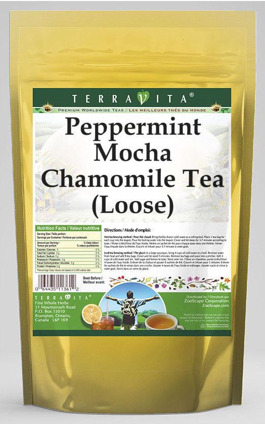 Peppermint Mocha Chamomile Tea (Loose)