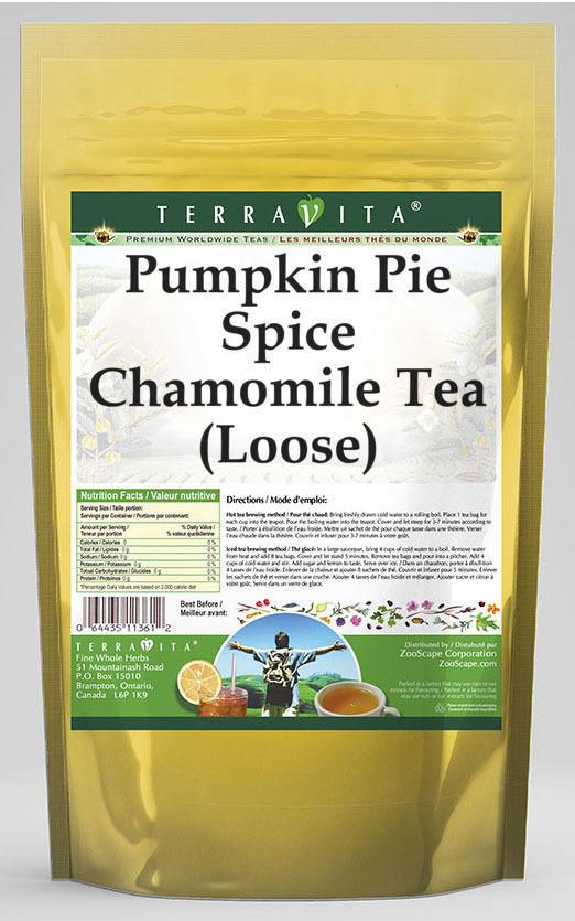 Pumpkin Pie Spice Chamomile Tea (Loose)