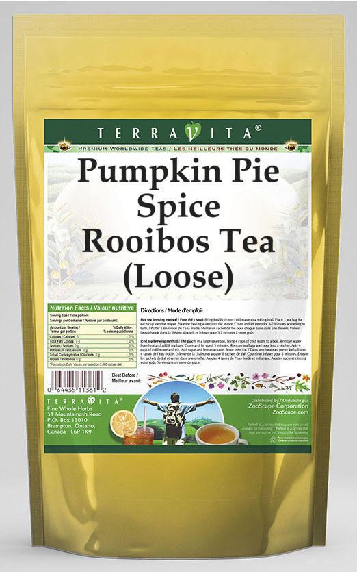 Pumpkin Pie Spice Rooibos Tea (Loose)