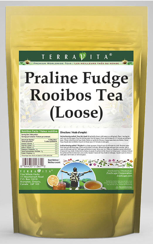 Praline Fudge Rooibos Tea (Loose)