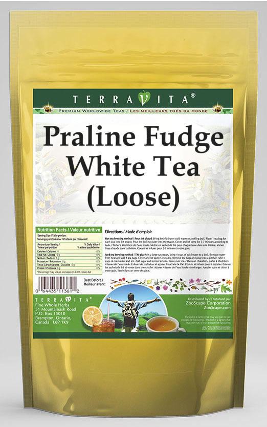 Praline Fudge White Tea (Loose)