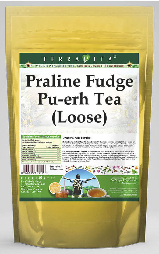 Praline Fudge Pu-erh Tea (Loose)