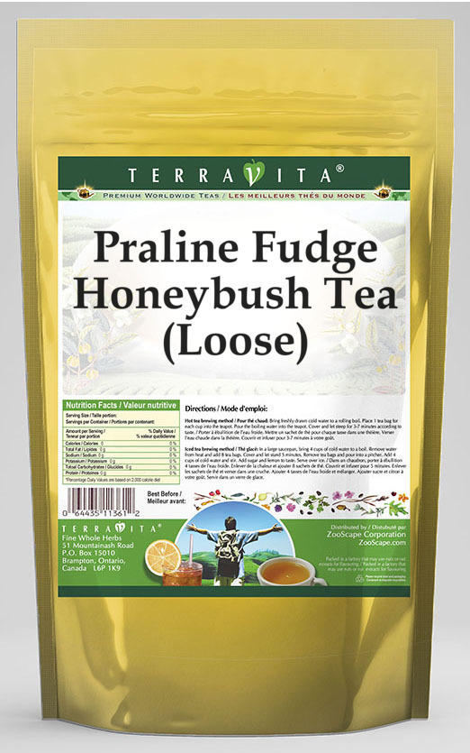 Praline Fudge Honeybush Tea (Loose)