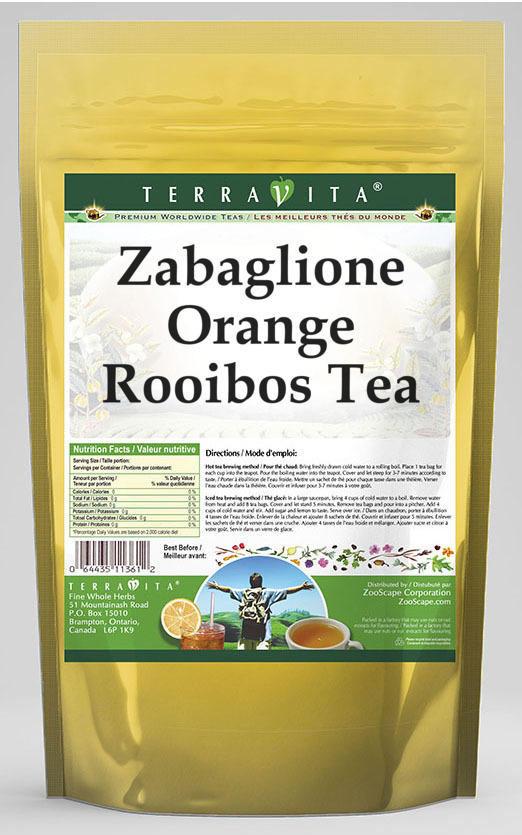 Zabaglione Orange Rooibos Tea