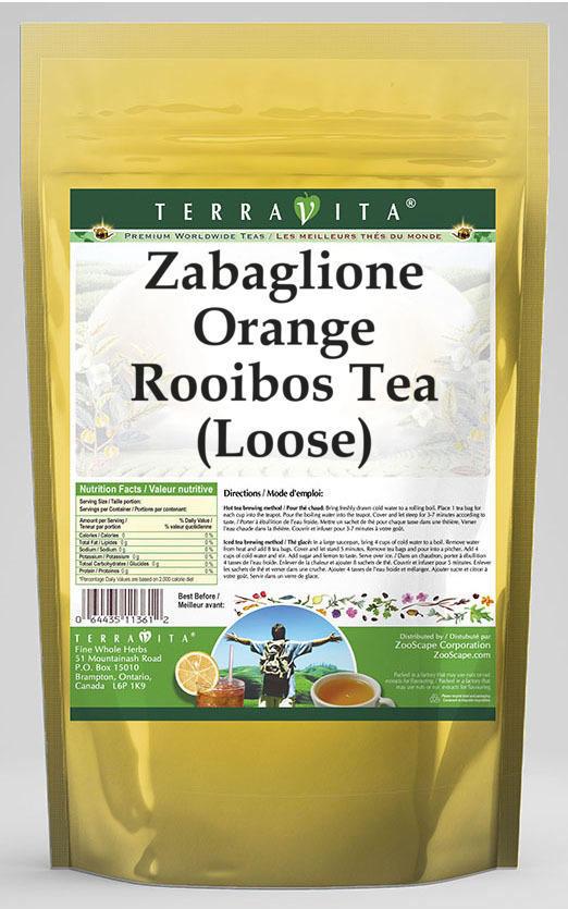 Zabaglione Orange Rooibos Tea (Loose)