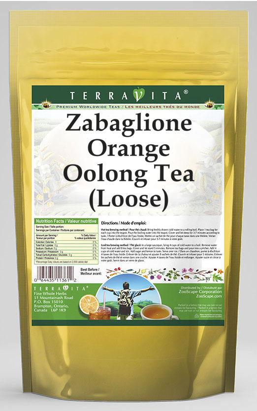 Zabaglione Orange Oolong Tea (Loose)