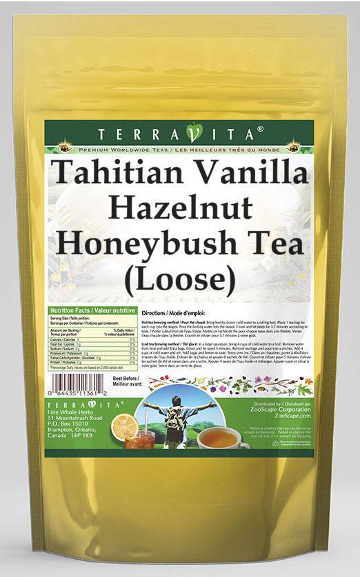 Tahitian Vanilla Hazelnut Honeybush Tea (Loose)