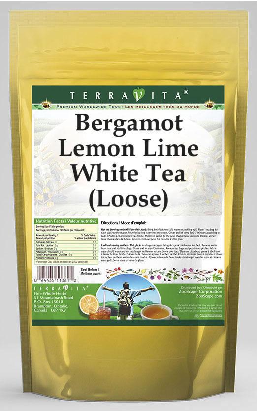 Bergamot Lemon Lime White Tea (Loose)