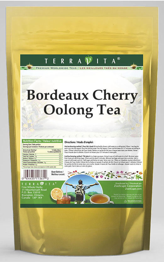 Bordeaux Cherry Oolong Tea