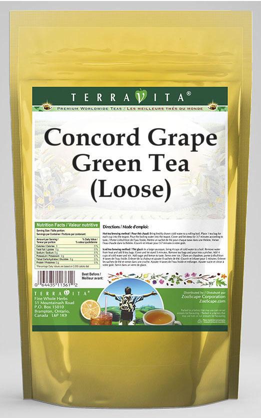 Concord Grape Green Tea (Loose)