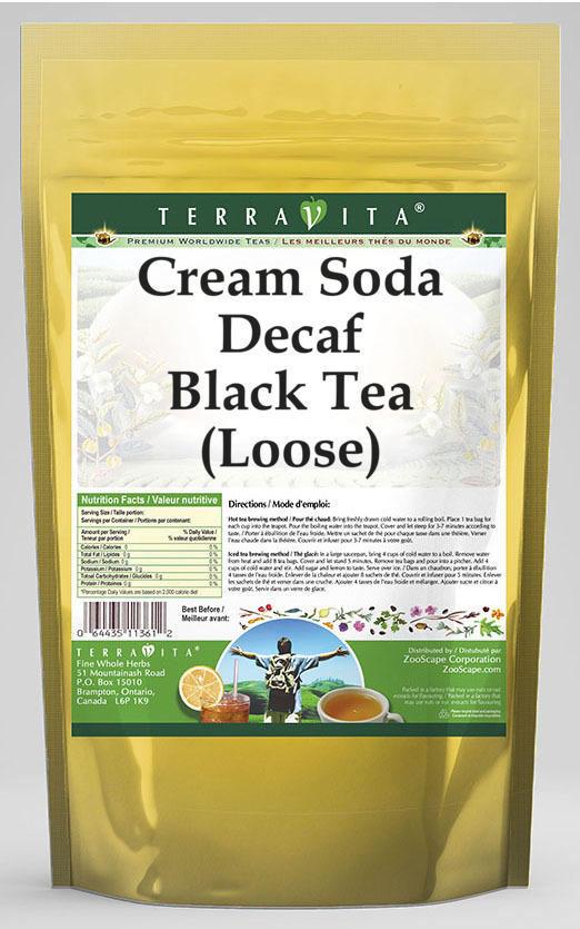 Cream Soda Decaf Black Tea (Loose)