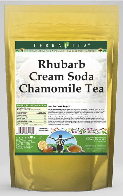 Rhubarb Cream Soda Chamomile Tea