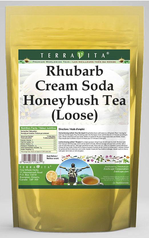 Rhubarb Cream Soda Honeybush Tea (Loose)
