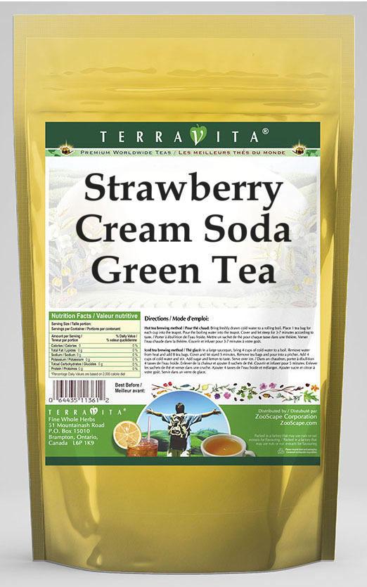 Strawberry Cream Soda Green Tea
