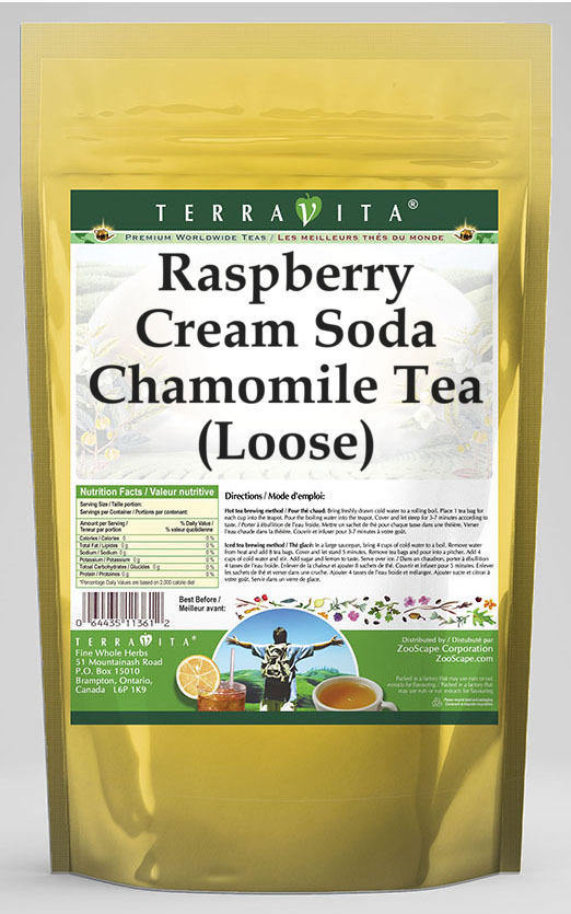Raspberry Cream Soda Chamomile Tea (Loose)