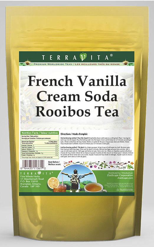 French Vanilla Cream Soda Rooibos Tea