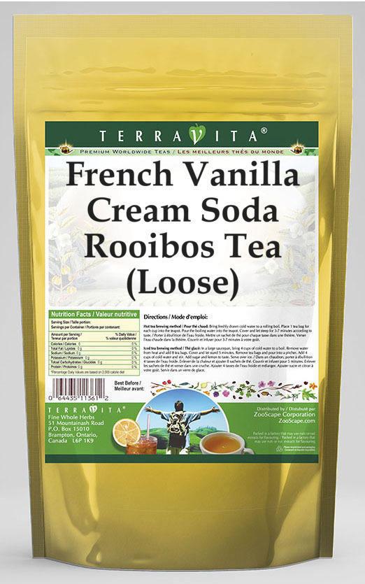 French Vanilla Cream Soda Rooibos Tea (Loose)