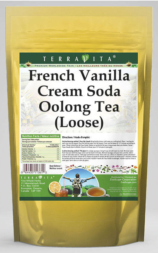 French Vanilla Cream Soda Oolong Tea (Loose)