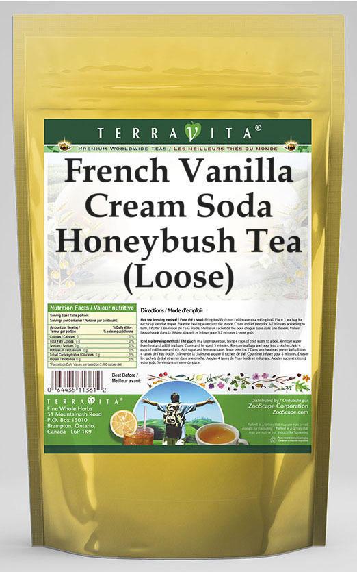 French Vanilla Cream Soda Honeybush Tea (Loose)