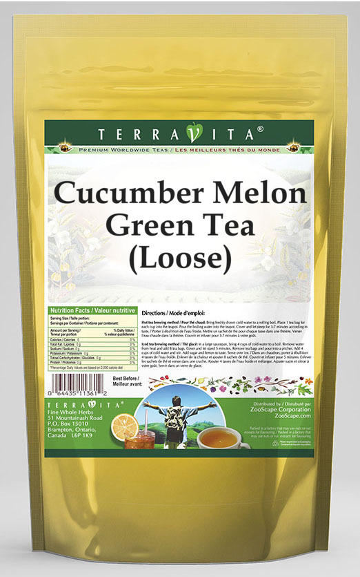 Cucumber Melon Green Tea (Loose)
