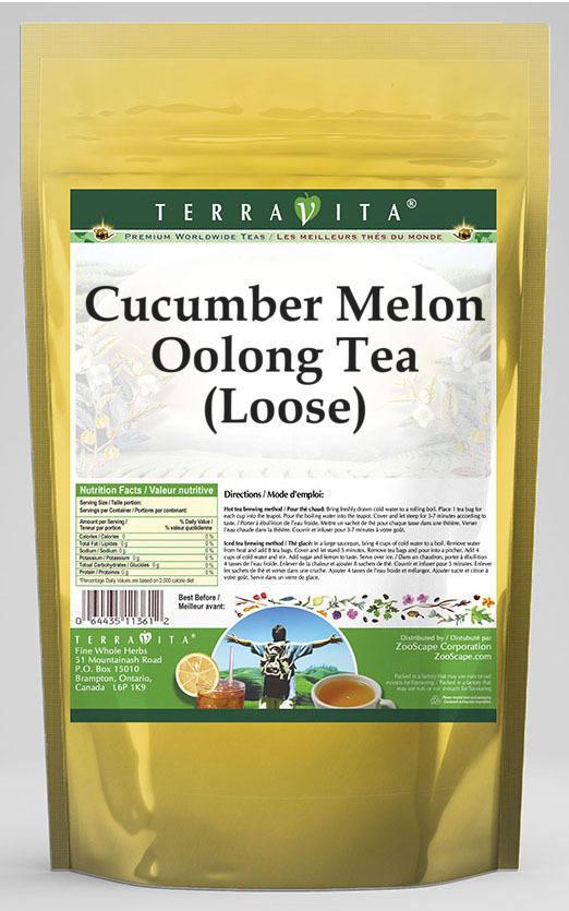 Cucumber Melon Oolong Tea (Loose)