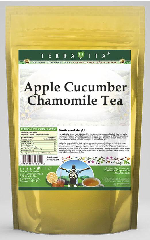 Apple Cucumber Chamomile Tea