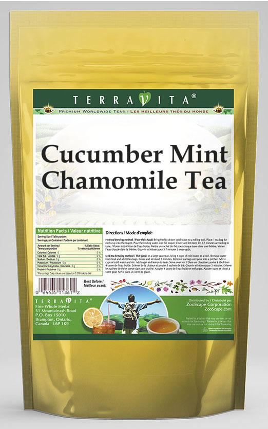 Cucumber Mint Chamomile Tea