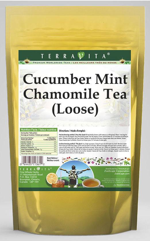 Cucumber Mint Chamomile Tea (Loose)