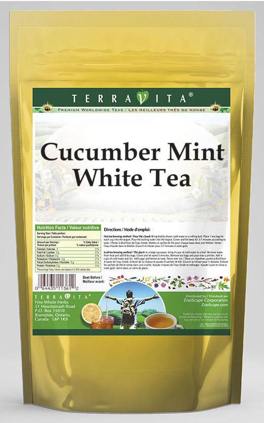 Cucumber Mint White Tea