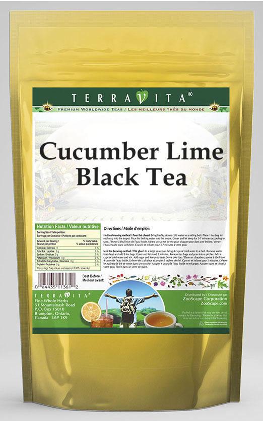 Cucumber Lime Black Tea