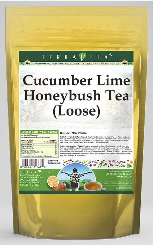 Cucumber Lime Honeybush Tea (Loose)